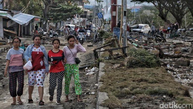 Gempa-Tsunami Palu, JK: Pemerintah Siapkan Segala yang Dibutuhkan