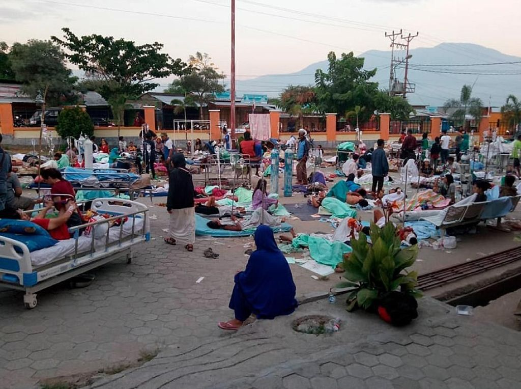 Kemenkes: Korban Gempa dan Tsunami Masih Takut Turun Gunung