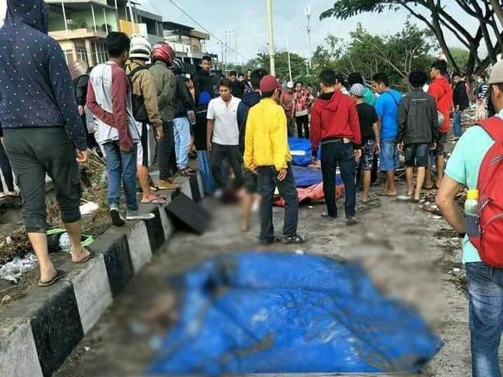 Korban Meninggal Gempa dan Tsunami Palu 384 Orang