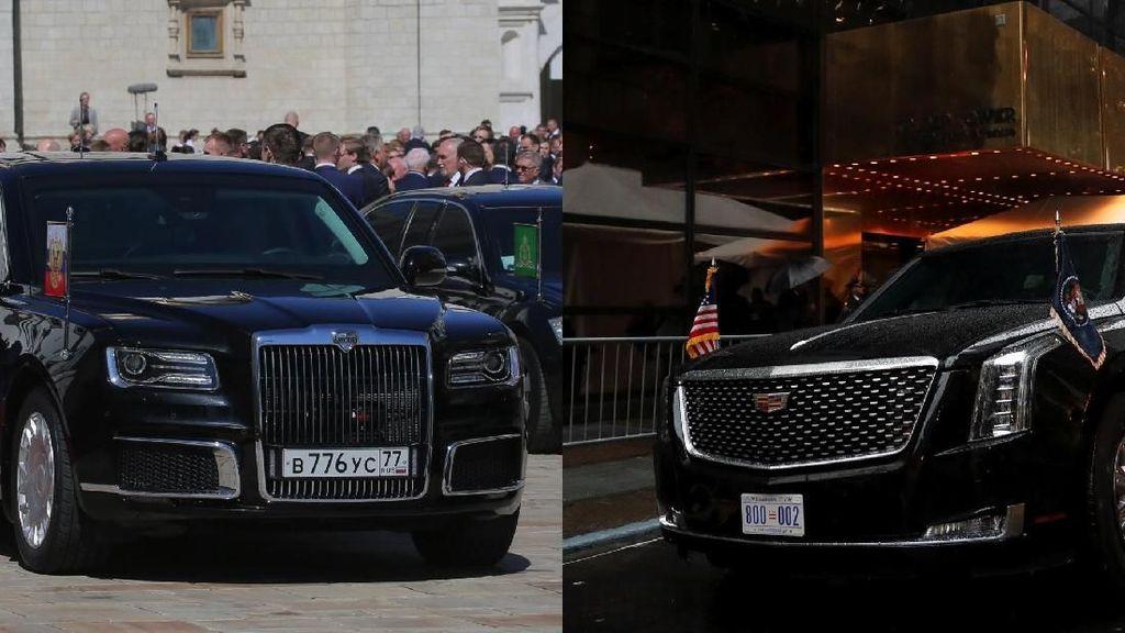 Mobil Trump dan Putin Bagusan Mana?