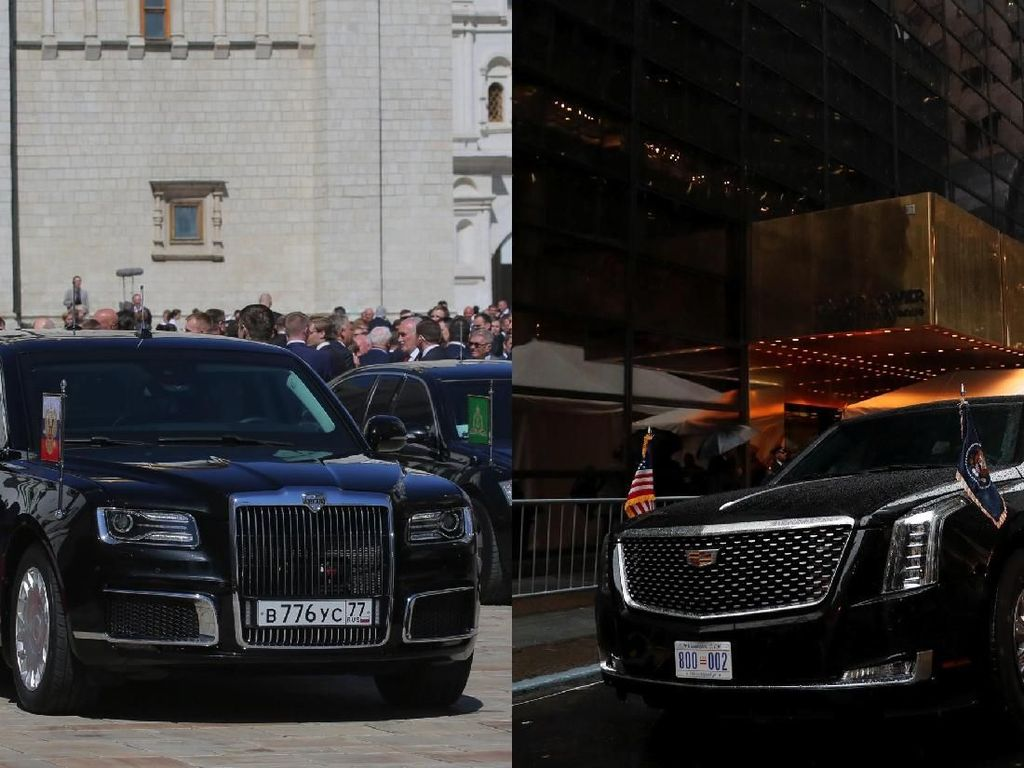 Mobil Presiden yang Keren-keren