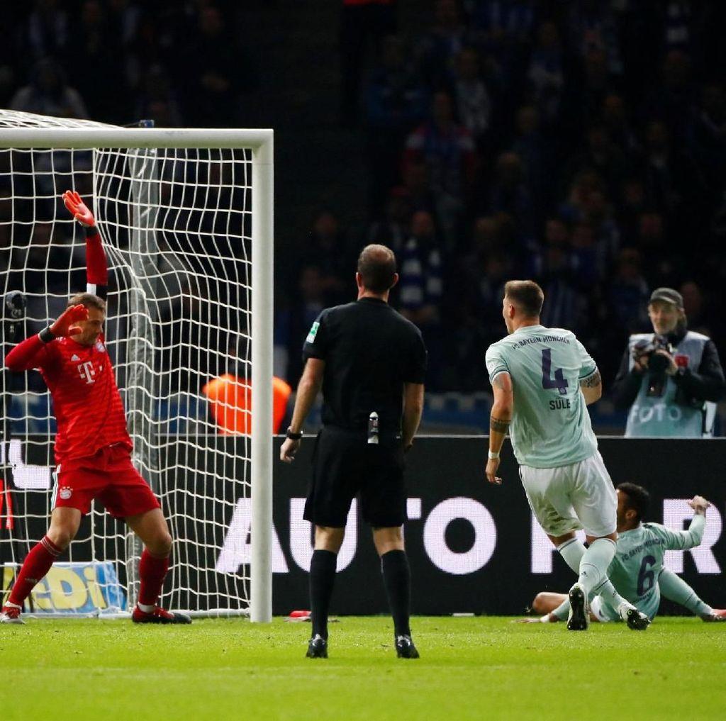 Hasil Liga Jerman: Bayern Tumbang di Markas Hertha Berlin