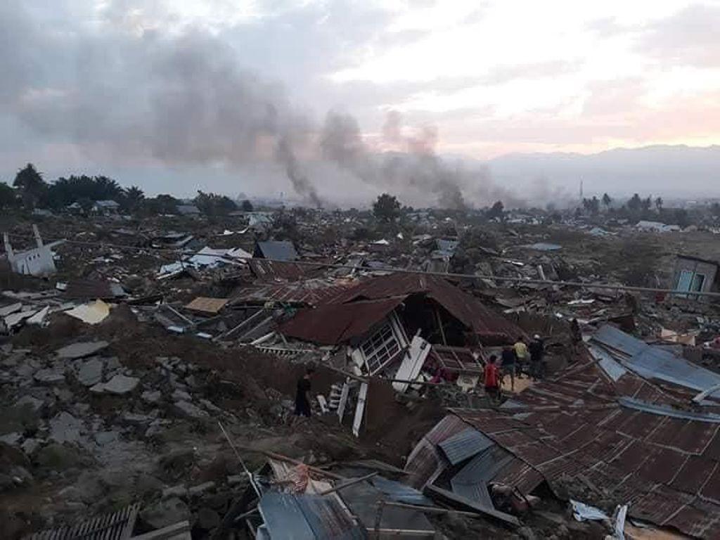 12 Hercules dan 100 Paskhas Dikirim untuk Bantu Korban Gempa Palu