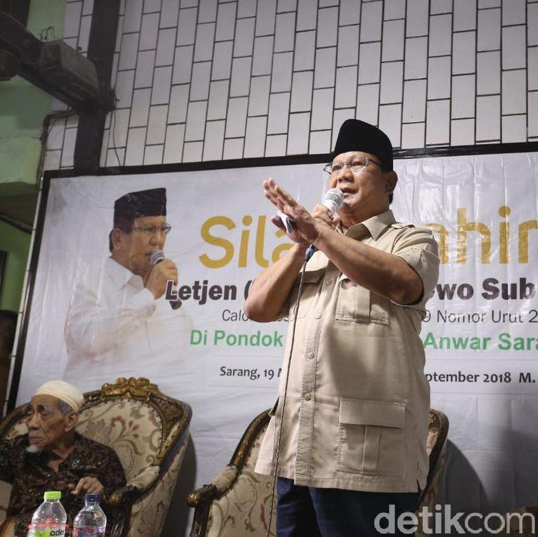 Prabowo Mengaku Keluar Air Mata Sebelum Daftar Capres, Ada Apa?