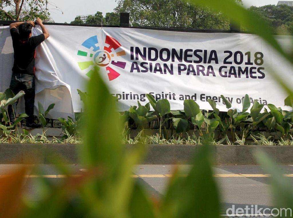 INAPGOC Berpacu dengan Waktu untuk Percantik Venue Asian Para Games