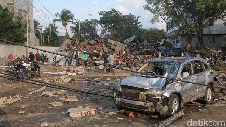 Kominfo: Korban Meninggal Gempa dan Tsunami Palu 405 Orang