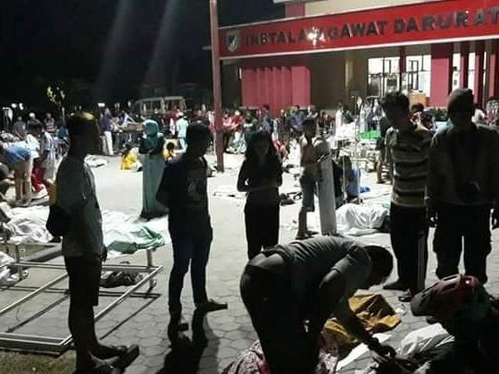 Gempa dan Tsunami di Sulteng: 356 Orang Luka-luka, Ribuan Rumah Rusak