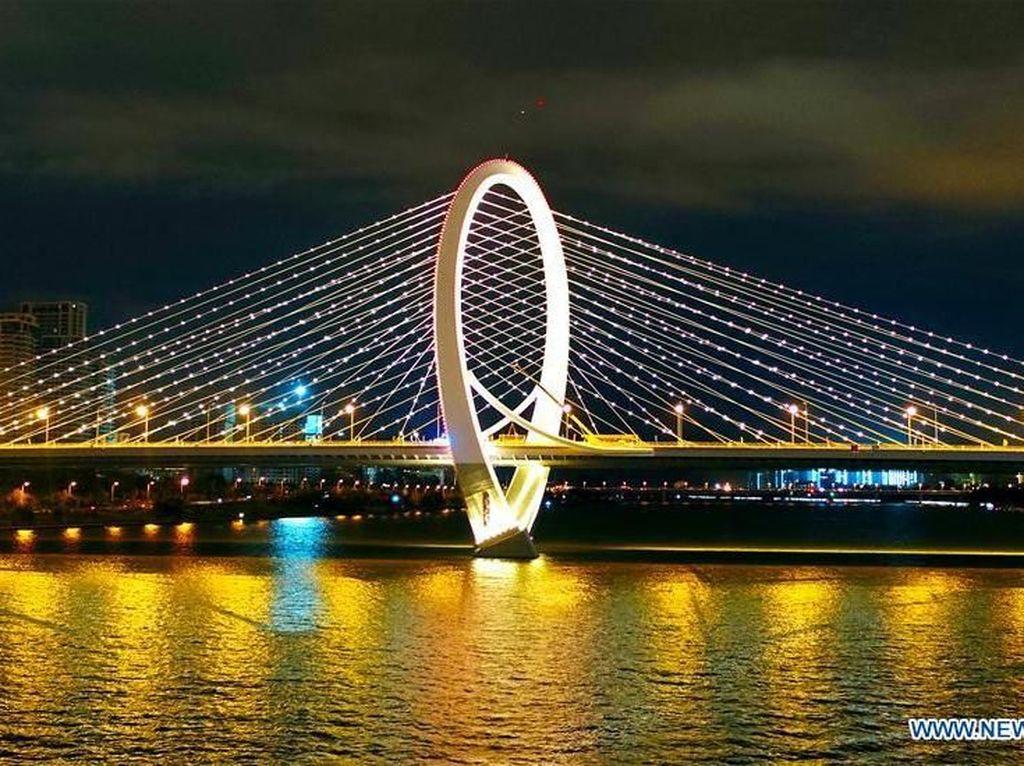 Jembatan Baru di China yang Sangat Manjakan Mata
