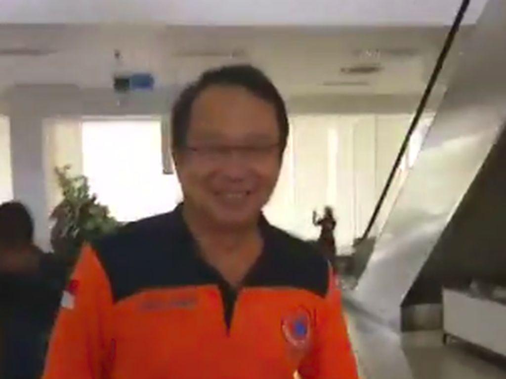 Mendagri-Kepala BNPB Terbang ke Donggala Pakai Heli dari Balikpapan