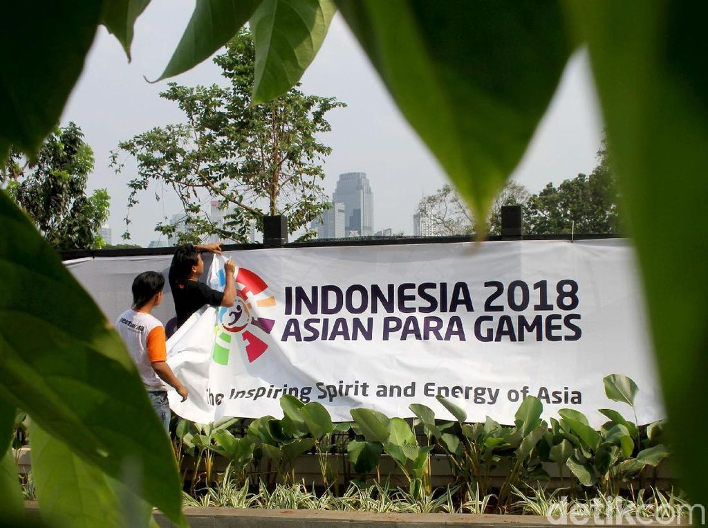 GBK Terus Berbenah Jelang Asian Para Games 2018