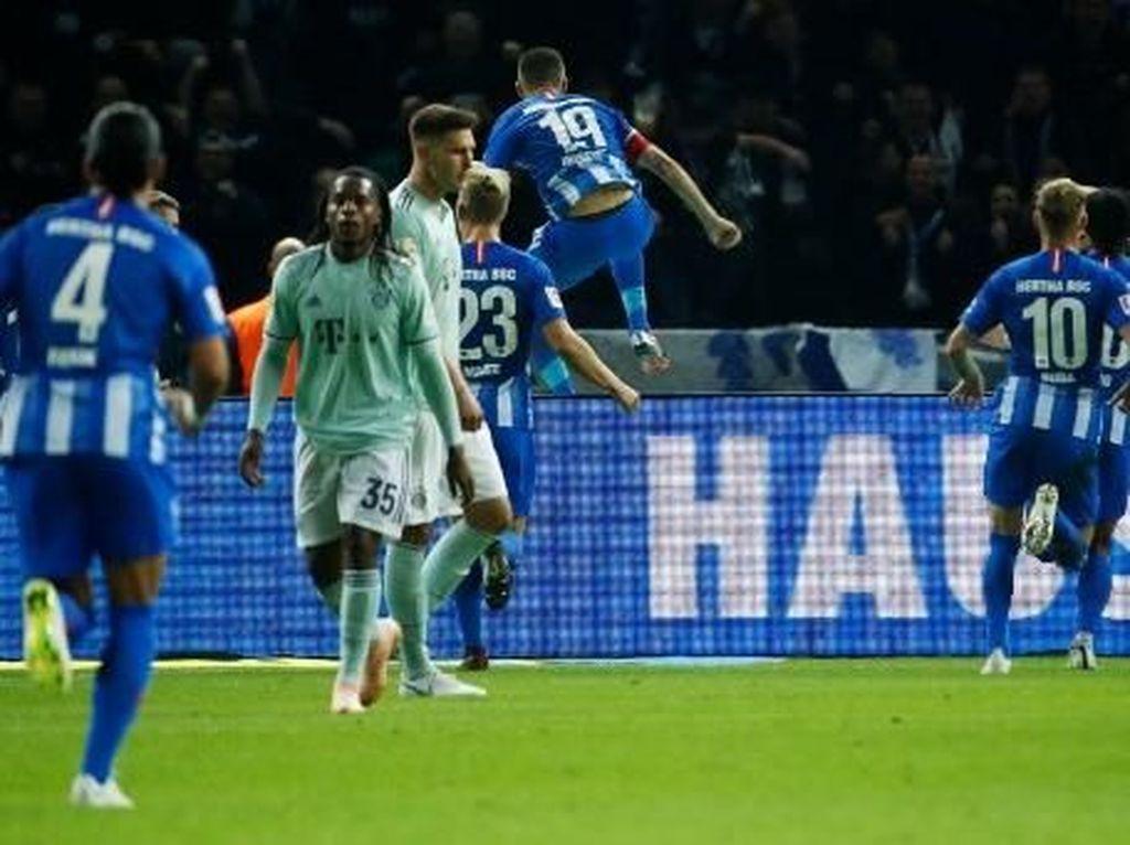 Kekalahan Bayern di Olympiastadion: 70% Ball Possession, 25 Shot, 0 Gol