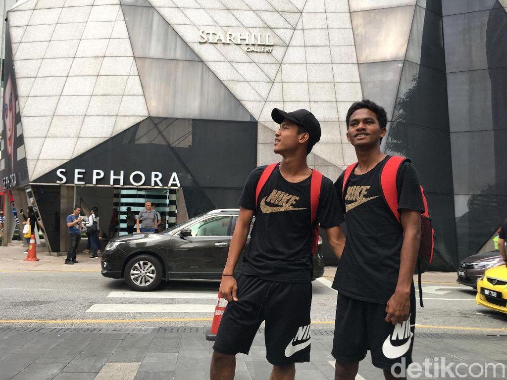 Diliburkan, Timnas U-16 Jalan-Jalan di Kuala Lumpur