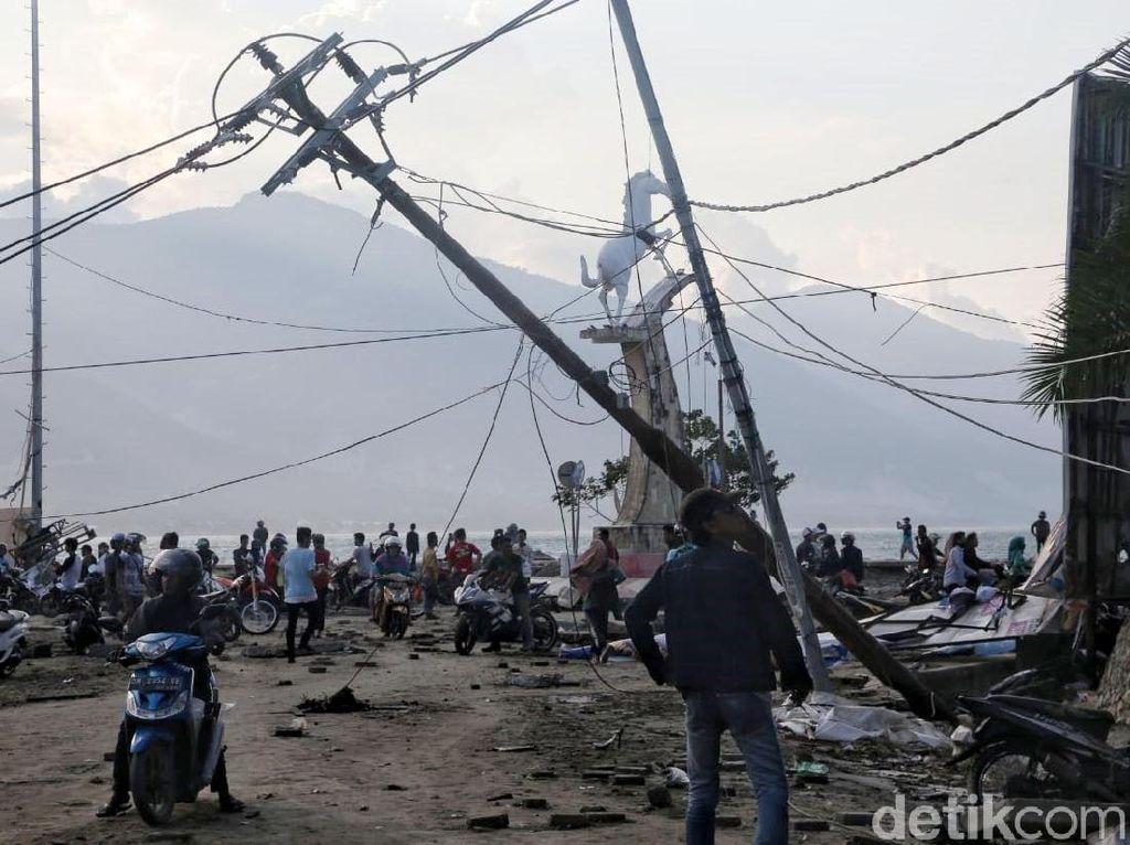 Lagi, Kominfo Kirim 100 Telepon Satelit ke Donggala dan Palu