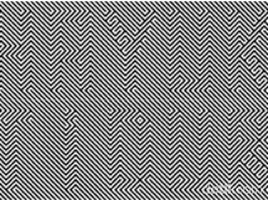 Seberapa Tajam Penglihatan Kamu? Temukan Kata Tersembunyi di Ilusi Ini