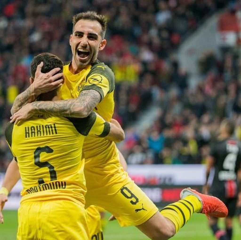 Hasil Liga Jerman: Kalahkan Leverkusen 4-2, Dortmund ke Puncak Klasemen