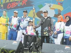 Terima Api Obor Asian Para Games Menpora: Jaga Agar Tidak Pernah Padam