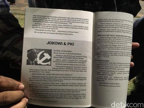Salah satu bab dalam isi dalam buku 'PKI Apa dan Bagaimana?'