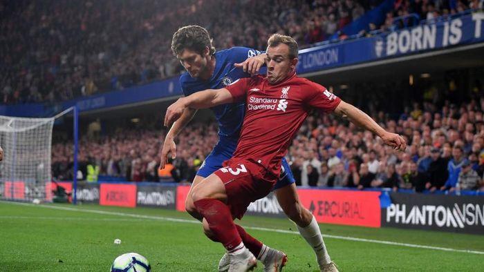 Chelsea vs Liverpool berakhir imbang 1-1. (Foto: Mike Hewitt/Getty Images)