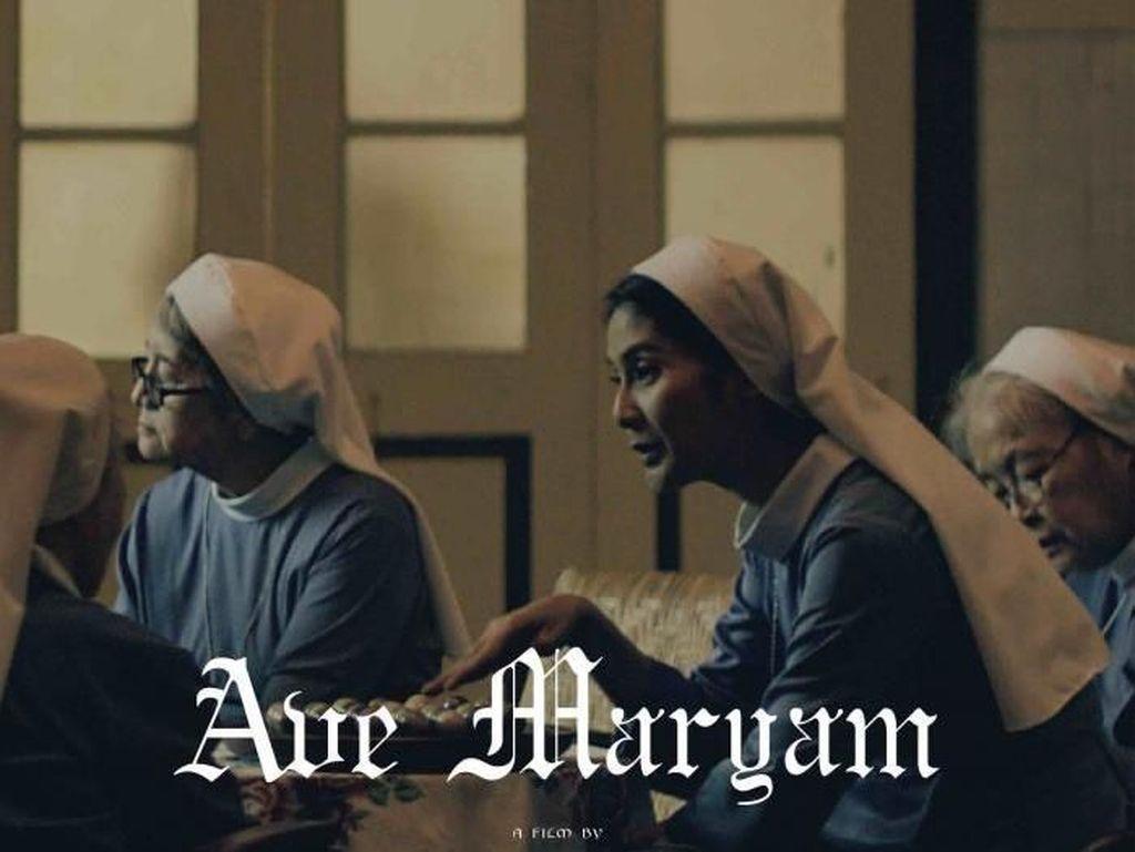 Maudy Koesnaedi Jadi Biarawati di Ave Maryam, Ini Rahasia Cantiknya