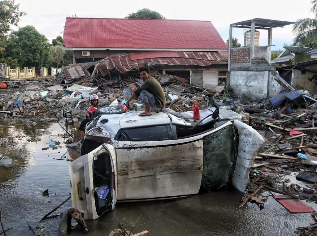 Rutan Donggala Dibakar Saat Gempa, Seluruh Tahanan Kabur