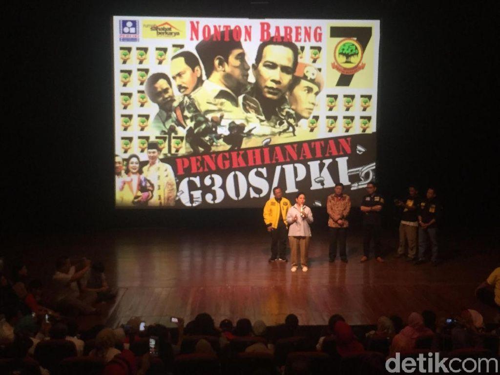 Partai Berkarya Gelar Nobar Film G30S/PKI