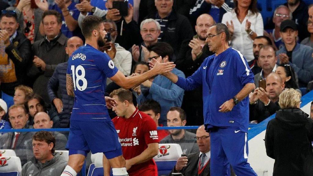 Belum Jadi Pilihan Utama di Chelsea, Giroud Tak Tertekan