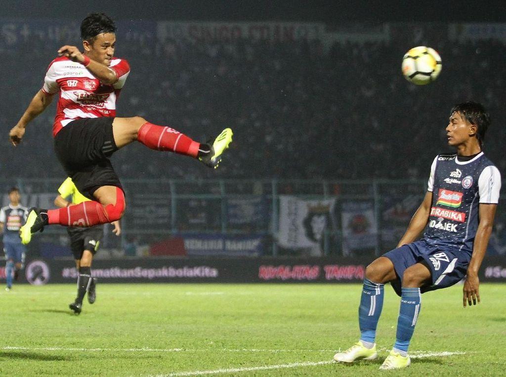 Keuntungan Arema FC Vs Madura United untuk Haringga dan Korban Tsunami Palu