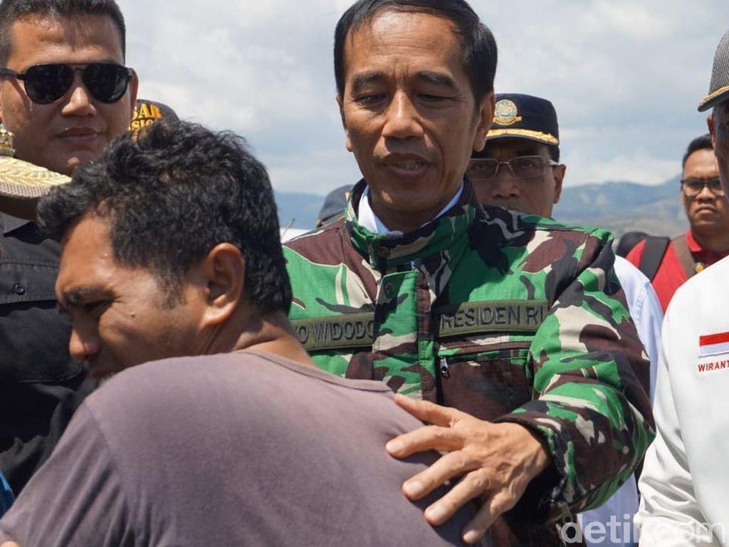 Bantuan Internasional Mengalir ke Sulteng, Jokowi: Teman Kita Banyak