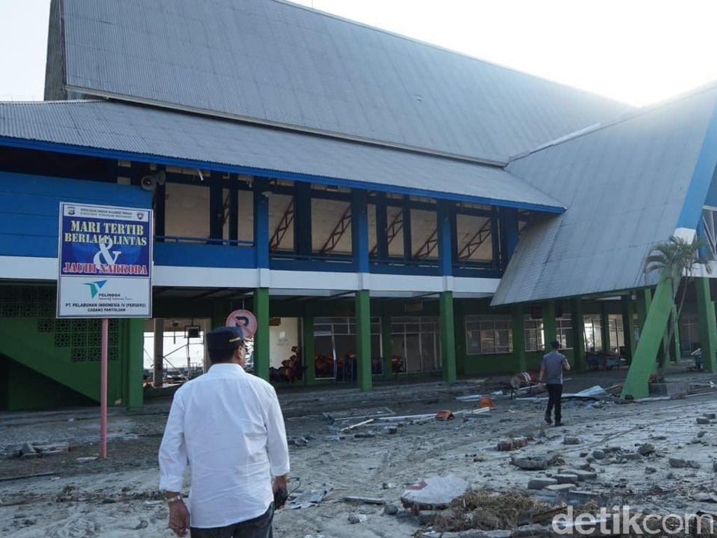 Pelabuhan Pantoloan Beroperasi Lagi, Fokus untuk Logistik Bencana