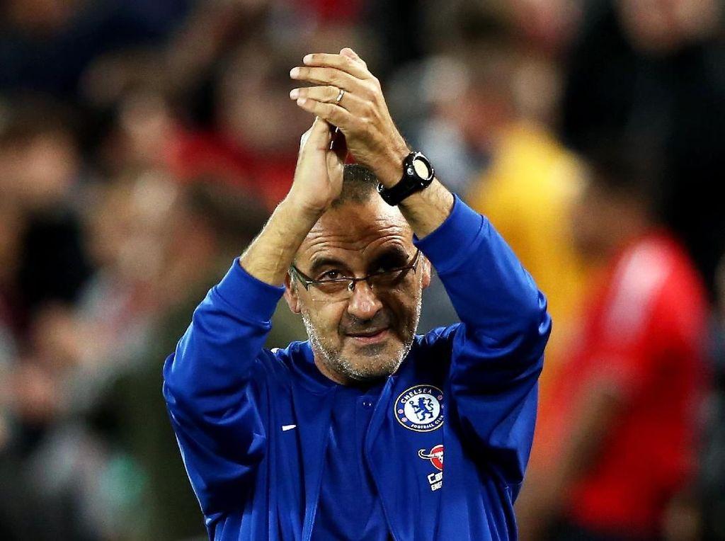 Laju Tak Terkalahkan Sarri di Chelsea Belum Terbendung