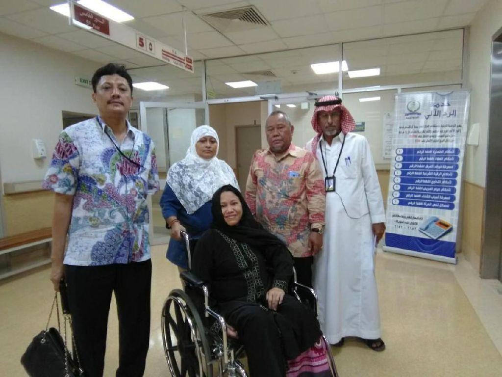 KJRI Jeddah Bantu Pulangkan WNI Overstay Penderita Stroke dari RS