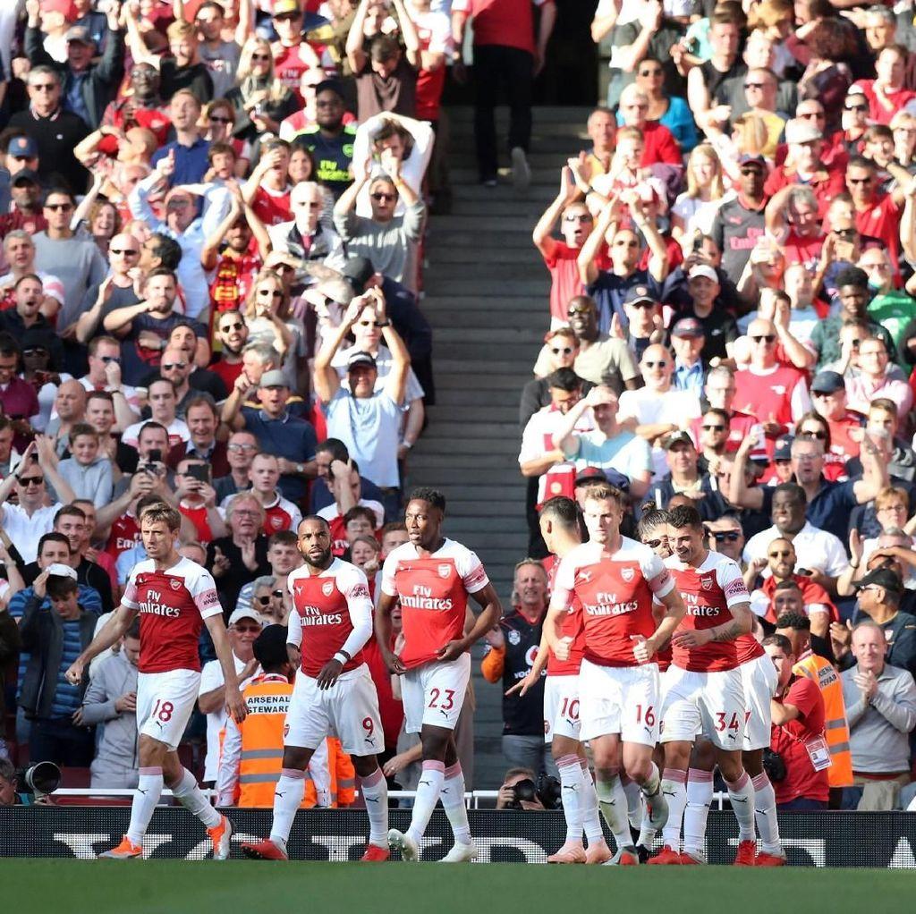 Leicester Menguji Misi Arsenal Incar 10 Kemenangan Beruntun