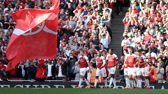 Arsenal incar sepuluh kemenangan beruntun di seluruh kompetisi (Peter Cziborra/Action Images via Reuters)