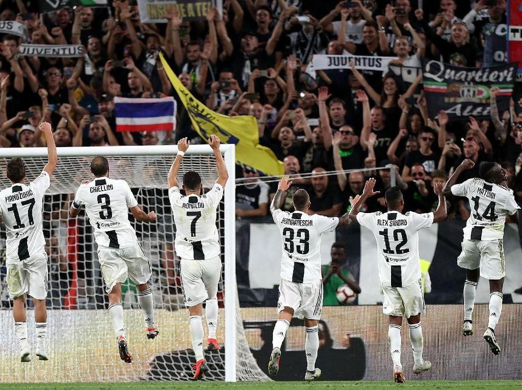 Hasil dan Klasemen Liga Italia Pekan Ketujuh