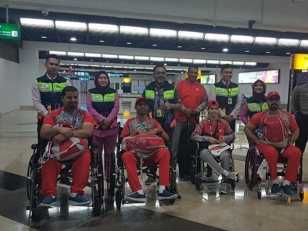Kontingen Bahrain untuk Asian Para Games Tiba di Jakarta