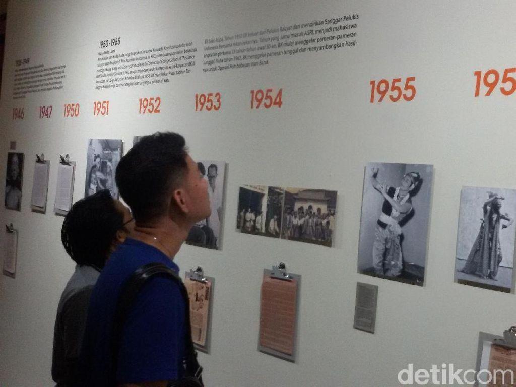 Jejak Perjalanan Maestro Seni Bagong Kussudiardja dalam Bingkai Dokumen