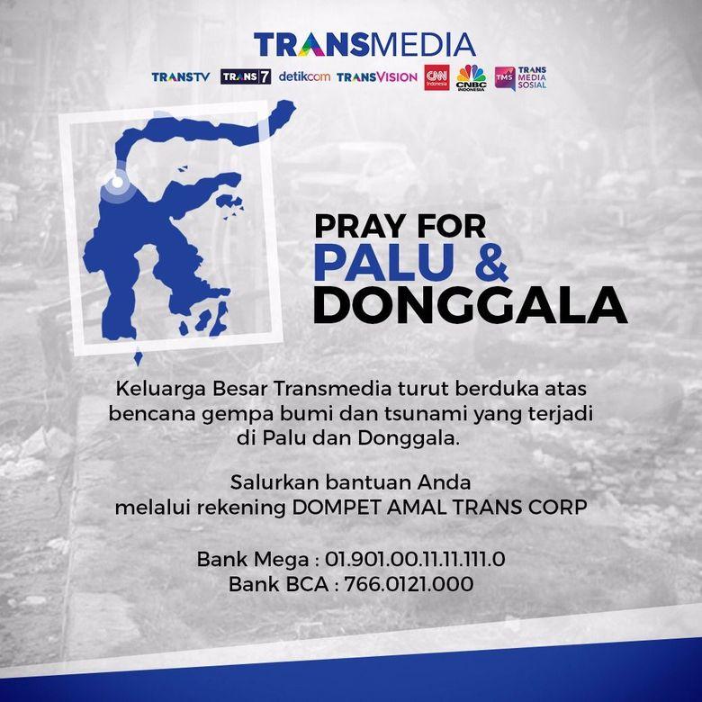 Dompet Amal Trans Corp untuk Palu dan Donggala