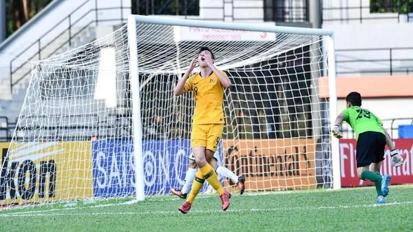 Timnas U-16 Waspadai Pemain Nomor 9 Australia