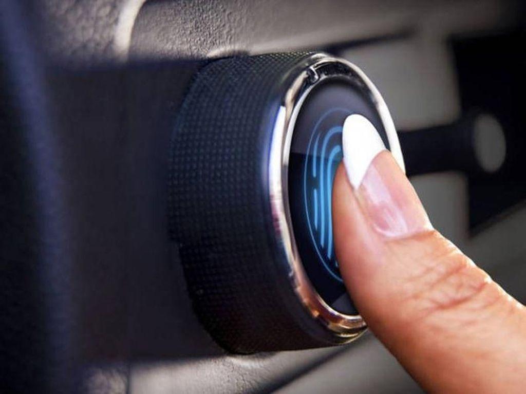 Mirip Handphone, Mobil Masa Depan Buka Pintunya Pakai Sidik Jari