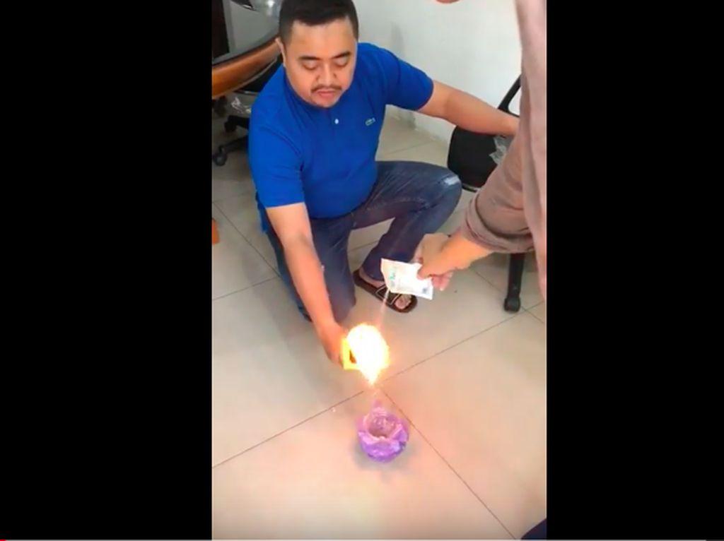 Viral Kopi Instan Menyala Saat Dibakar, Ini Penjelasan Resmi BPOM
