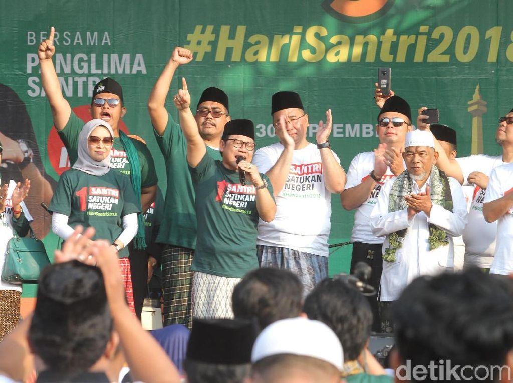 Video: Cak Imin Sebut Jokowi-Maruf Bak Jas Merah-Jas Hijau