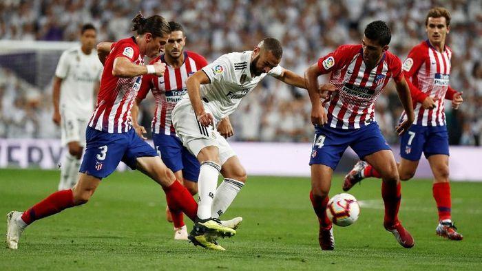 Real Madrid vs Atletico Madrid berakhir imbang 0-0 (Foto: Javier Barbancho/Reuters)