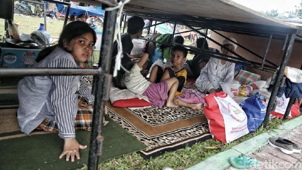 Begini Kondisi Tenda Pengungsian di Palu