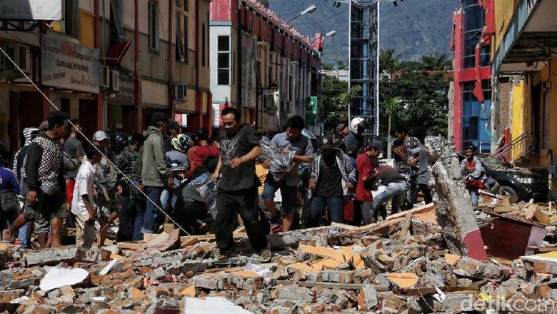 71 WNA di Palu Saat Gempa, 5 Orang Masih Hilang