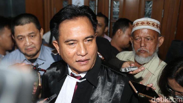 Yusril Ihza Mahendra Jadi Pengacara Jokowi-Maruf di Pilpres 2019