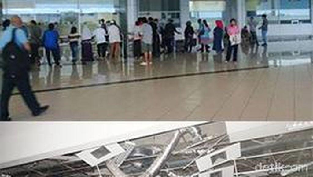 Before After Bandara di Palu yang Terkena Gempa