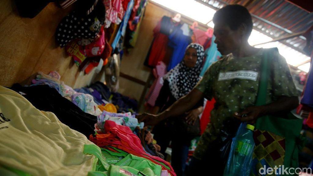 Melihat Lebih Dekat Pasar Skouw di Perbatasan RI-PNG