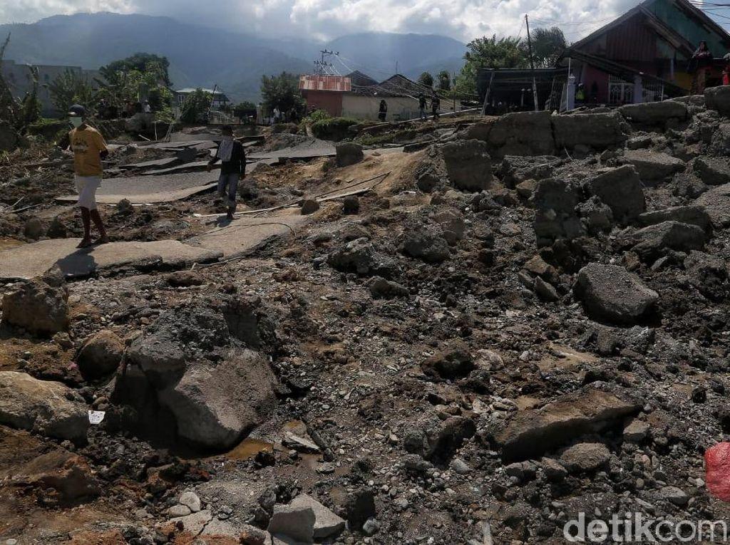 BNPB: 1.747 Rumah Ambles di Kompleks Balaroa Palu