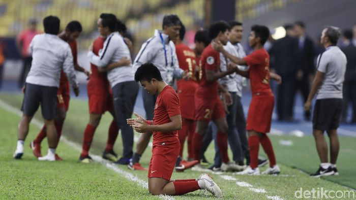 Indonesia gagal ke semifinal Piala Asia U-16 2018 (Dikhy Sasra/detikSport)