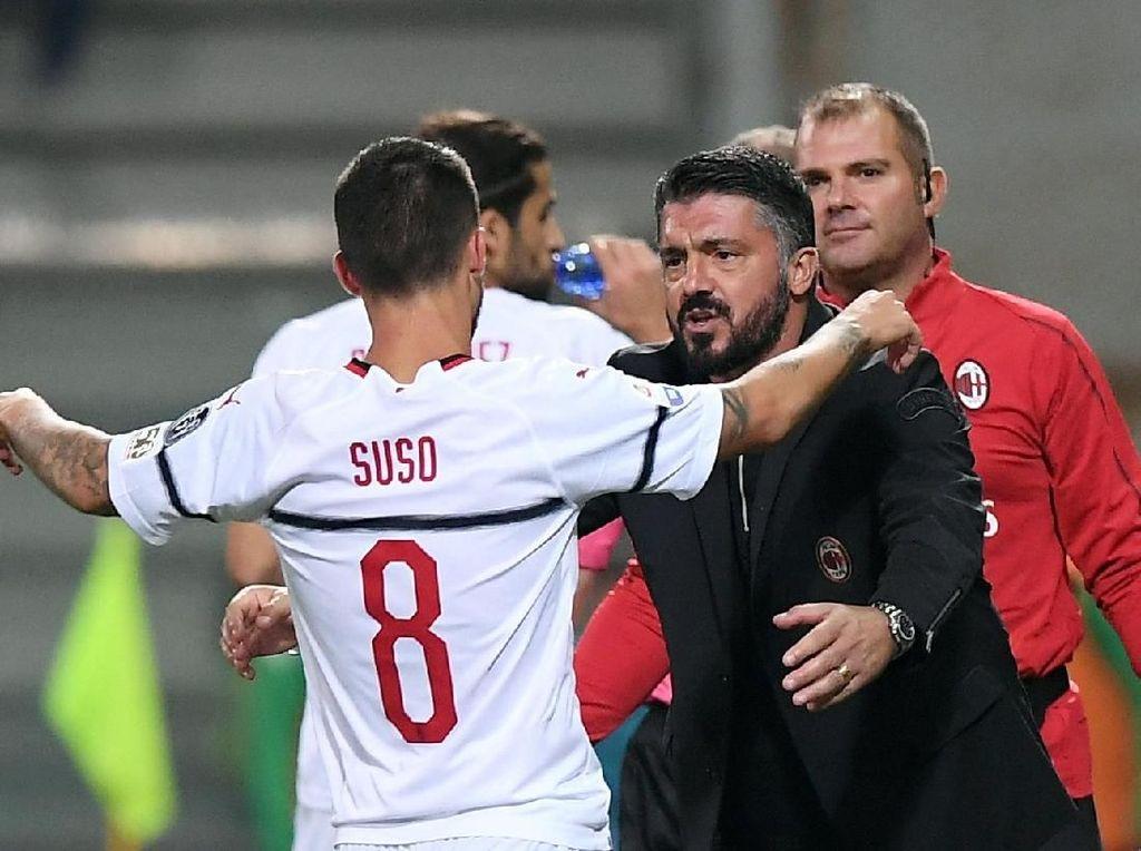 Main Tanpa Striker, Milan Malah Menang Besar